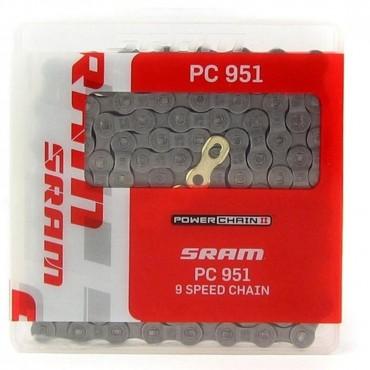Цепь Sram PC 951 114 li lnk 9spd