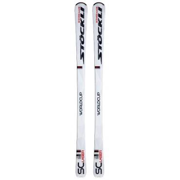 Лыжи горные Stockli Laser SC - salo-N SP12 red
