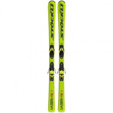 Лыжи горные Stockli Laser AX  XM13 MNC C90 yellow