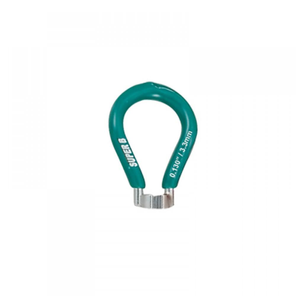 Спицной ключ 3.3 mm -green (European) Super B