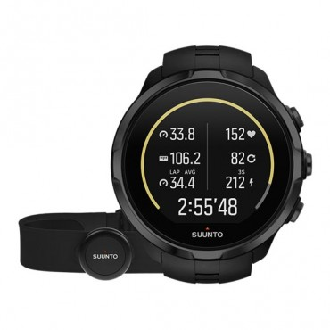 Часы Suunto Spartan Sport Wrist HR+Belt all black