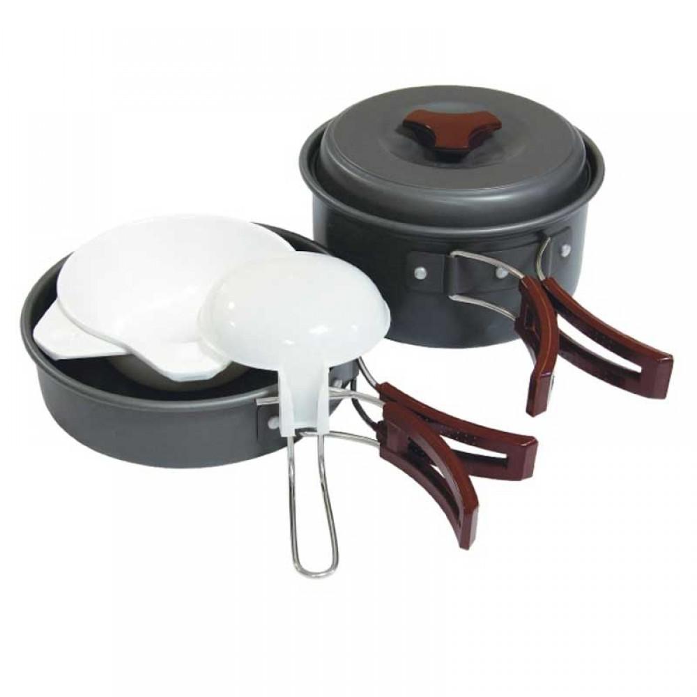 Набор посуды (анодированный алюминий) Tramp