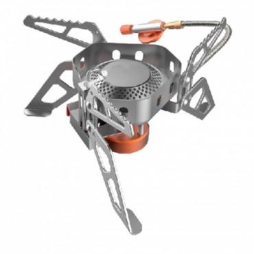 Горелка туристическая складная со шлангом Tramp (сталь, латунь, алюминий)