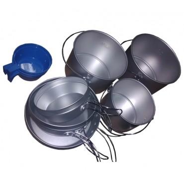 Набор посуды Tramp (алюминий)