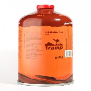 Газовый баллон - резьбовой - 450 г - (к-12 шт) Tramp
