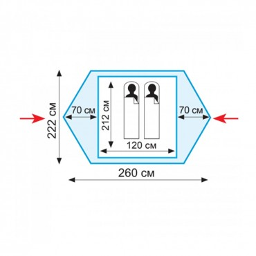 Палатка Tramp Colibri (V2)