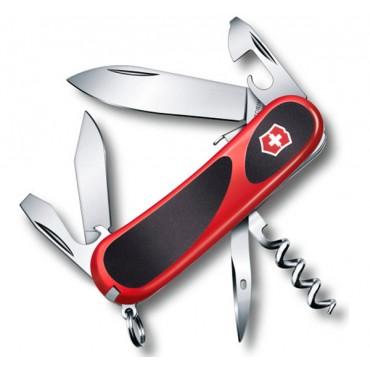 Нож карманный  Victorinox EvoGrip S101- 12 функций