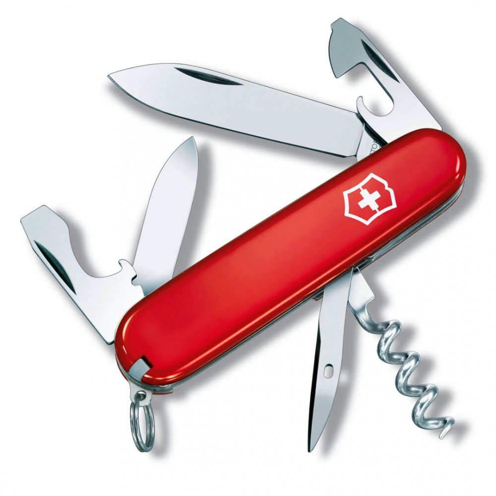Нож армейский Victorinox Tourist - 12 функций