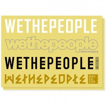 Комплект наклеек Wethepeople 4Big