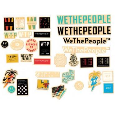 Комплект наклеек Wethepeople Brand (упак. 15шт.)