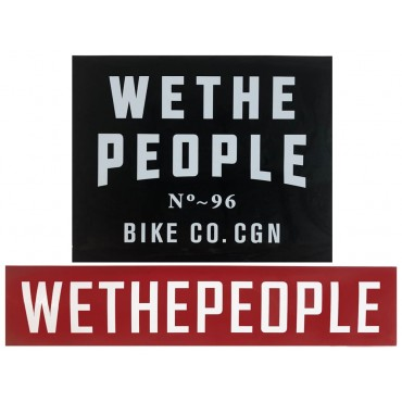 Комплект наклеек Wethepeople Ramp