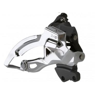 Переключатель передний Sram X7 3X10 HI clamp 318 /349 dualpull