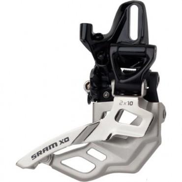 Переключатель передний Sram X0 2x10 High Direct Mount 38/36t Dual Pull