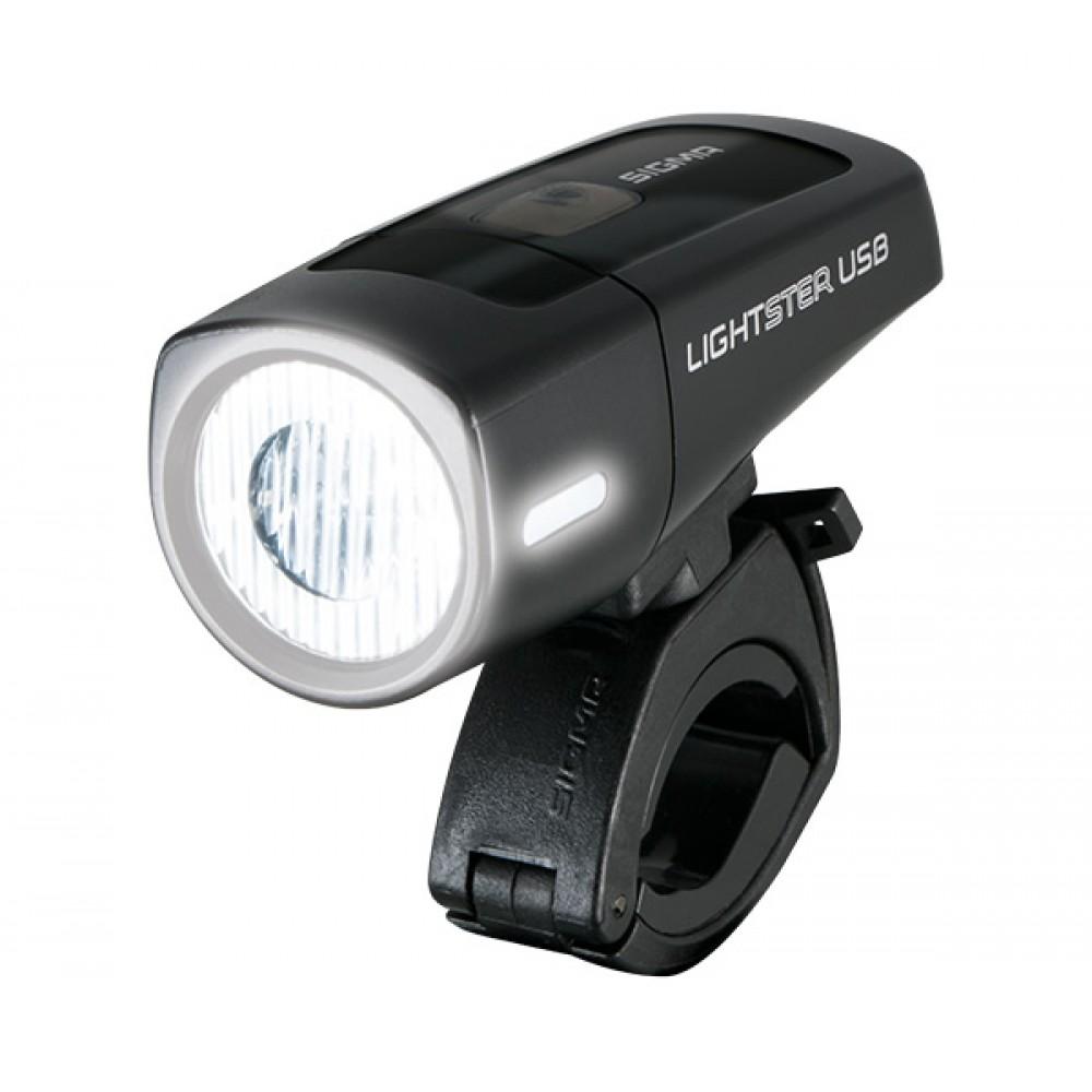 Фонарь передний Sigma Lightster Light USB