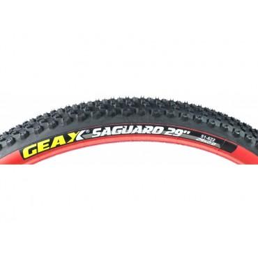 Покрышка Geax Saguaro 29x2.0 Rigid Black/Red