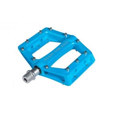 Педали Cube Flat Race Blue