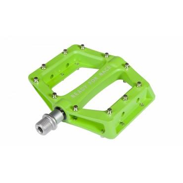 Педали Cube Flat Race Green