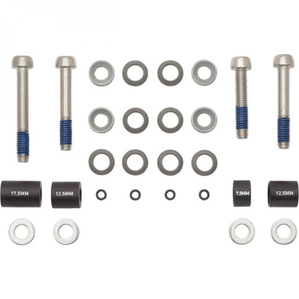 Переходник для диск. тормоза Avid Post Spacer Set-20S (Front180/) Includes Stainless