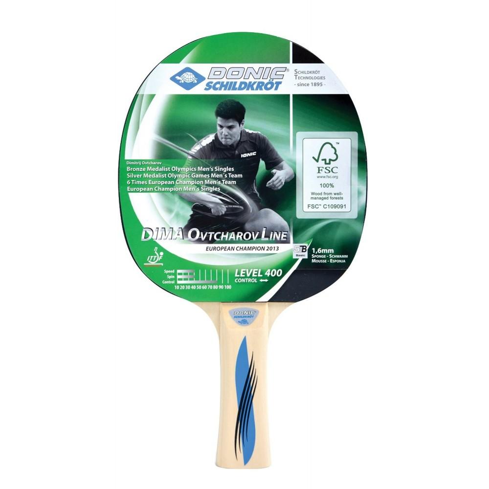 Ракетка для настольного тенниса Donic Schildkrot Ovtcharov 400 1.6