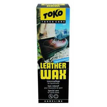 Средство для чистки обуви Toko Leather Wax