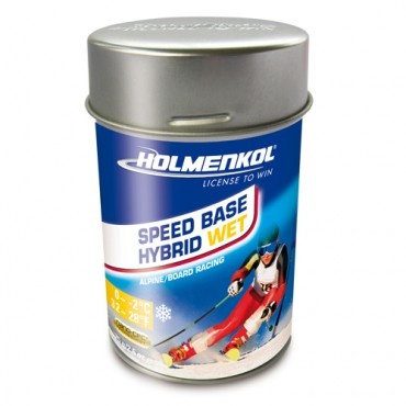 Порошковая смазка Holmenkol SpeedBase Hybrid Wet