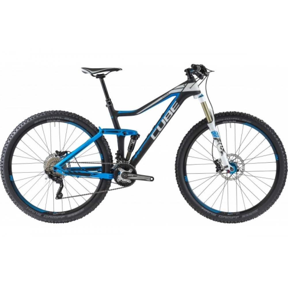 Двухподвесный велосипед Cube Stereo 140 HPC Pro 29 2014