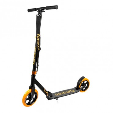 Самокат Fun4U Funscoo 200 black orange RT-O200-15