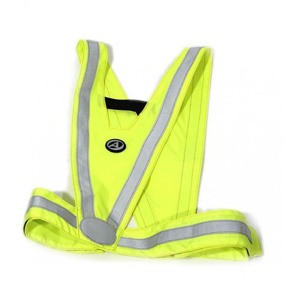 Светоотражающий жилет Author Reflex Vest A-O44 Neon Yellow