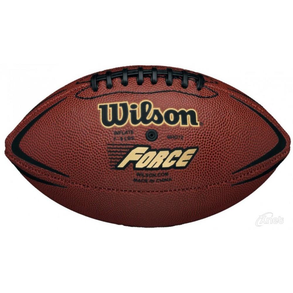 Мяч американского футбола Wilson NFL Force Official Deflate