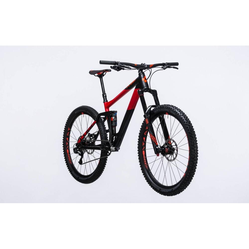Двухподвесный велосипед Cube Stereo 160 HPA Race 27.5 2017