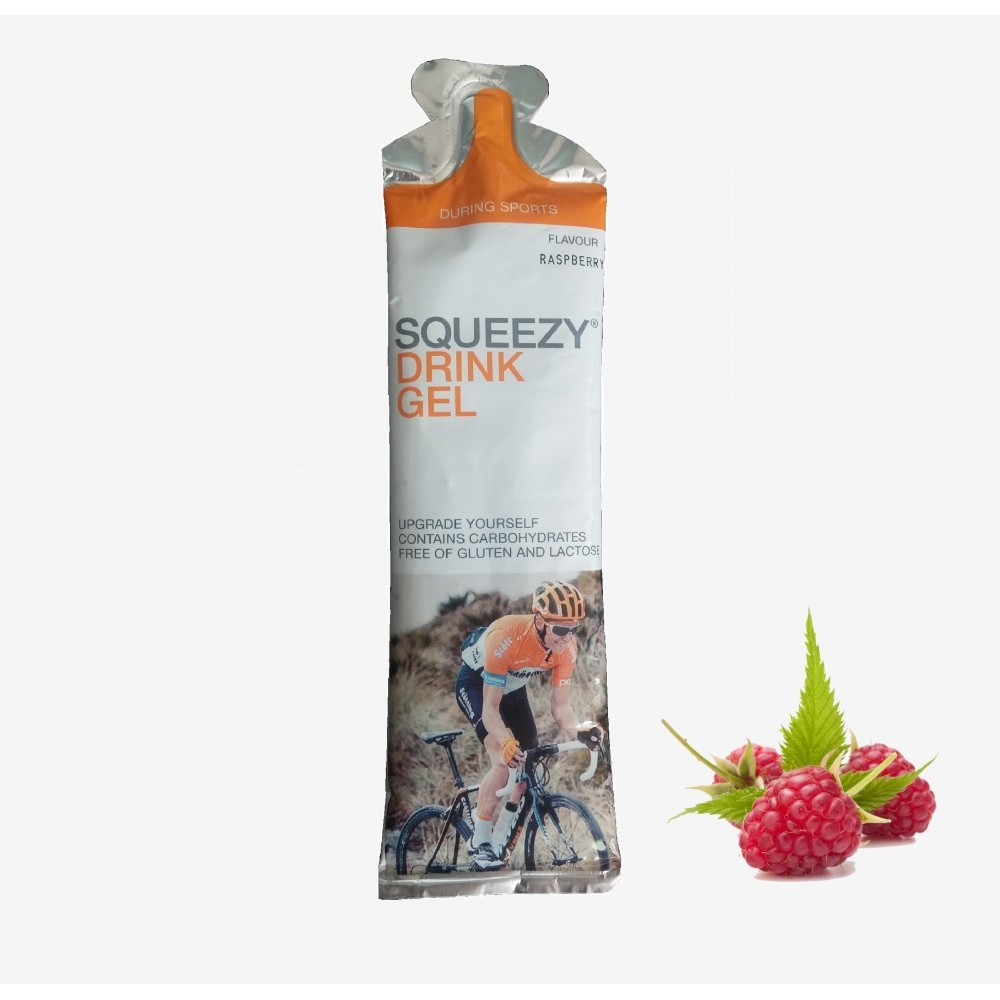 Питьевой энергетический гель Squeezy Drink Gel