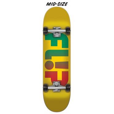 Скейтборд Santa Cruz Flip Odyssey Faded Yellow Mid