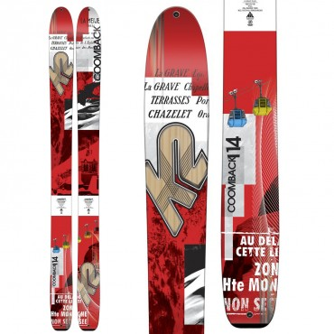 Горные лыжи K2 Coomback 114 14-15