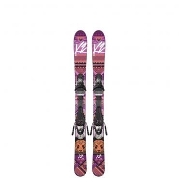 Горные лыжи K2 Luv Bug Fastrak2 4.5 (2015- 2016)
