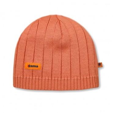 Шапка Kama knitted beanie A18