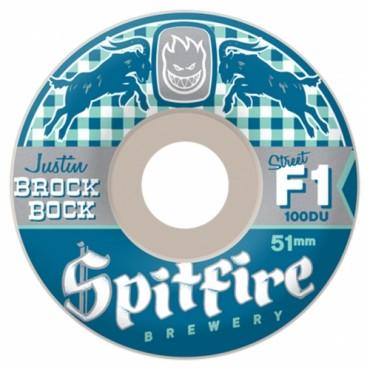 Колеса Spitfire F1Sb Brock Bock Wht