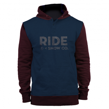 Толстовка Ride Logo Henley PO