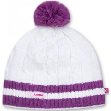 Шапка Kama knitted beanie A80
