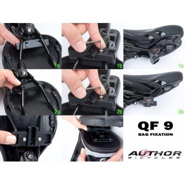 Велосумка подседельная Author A-S112 QF9