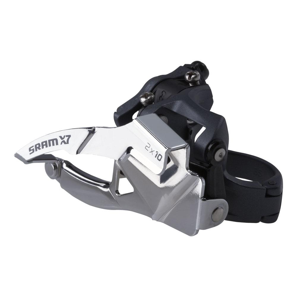 Переключатель передний Sram X7 2X10 Low Clamp 31.8/34.9 Dual Pull