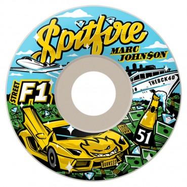 Колеса Spitfire F1Sb Johnson Billion White